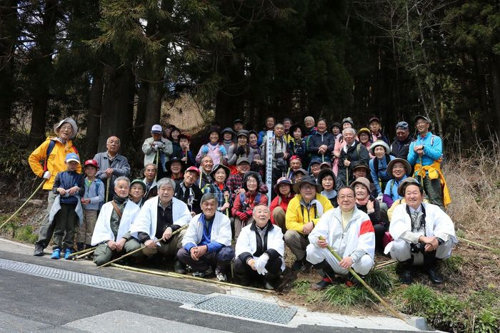 笹塞峠を歩こう会