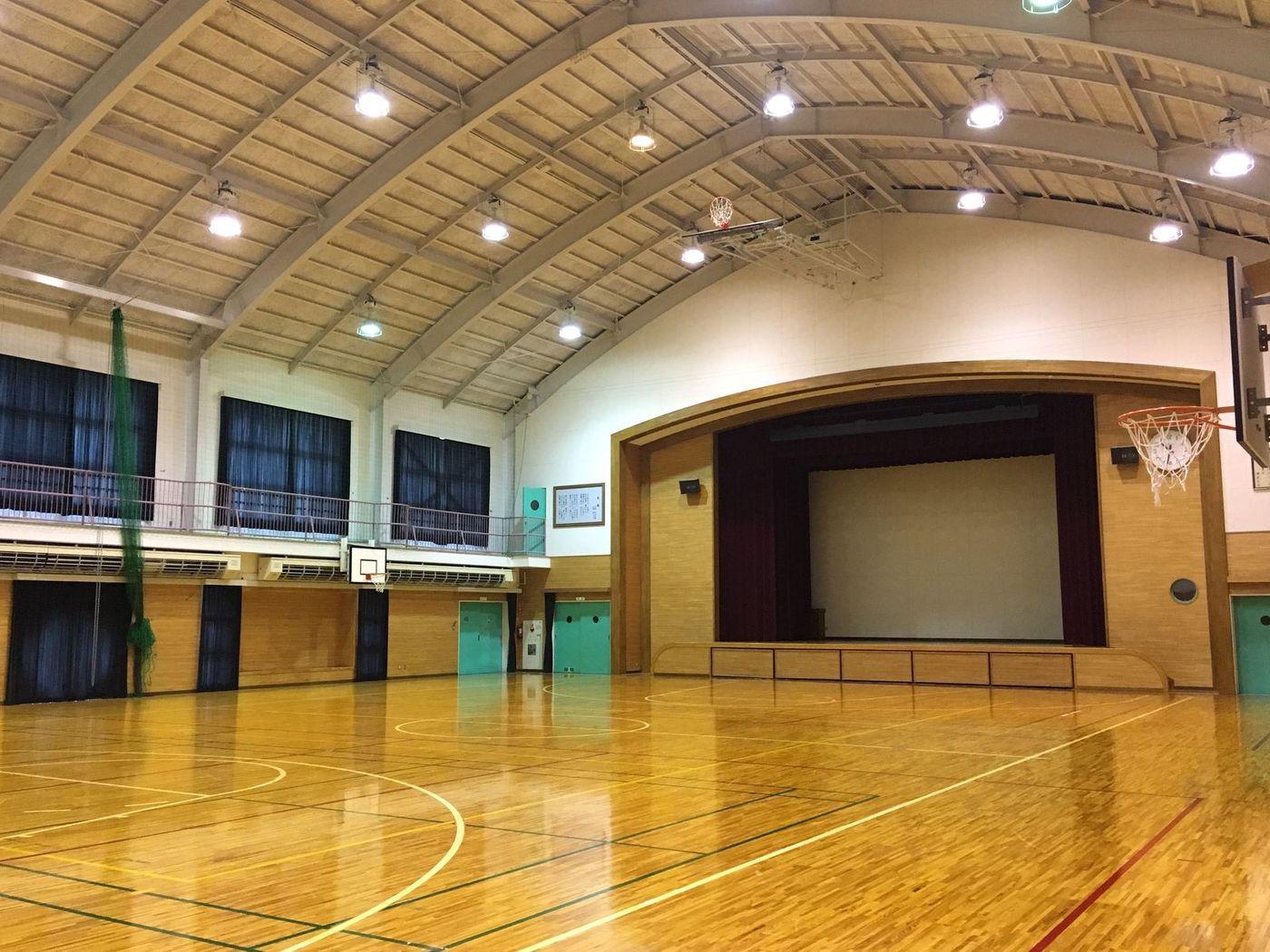 津谷川体育館 写真
