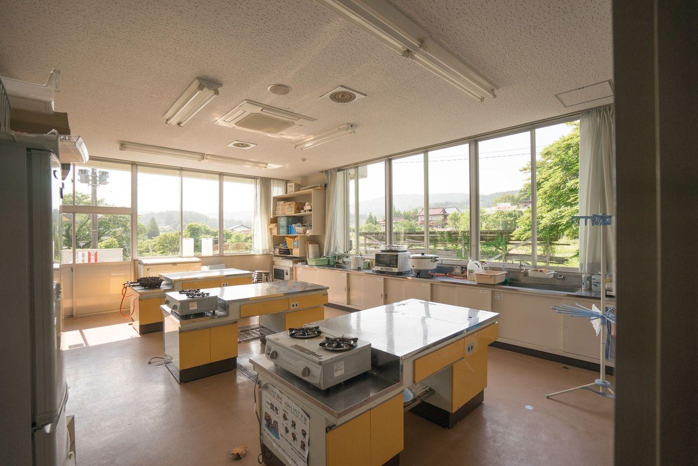 調理実習室 写真